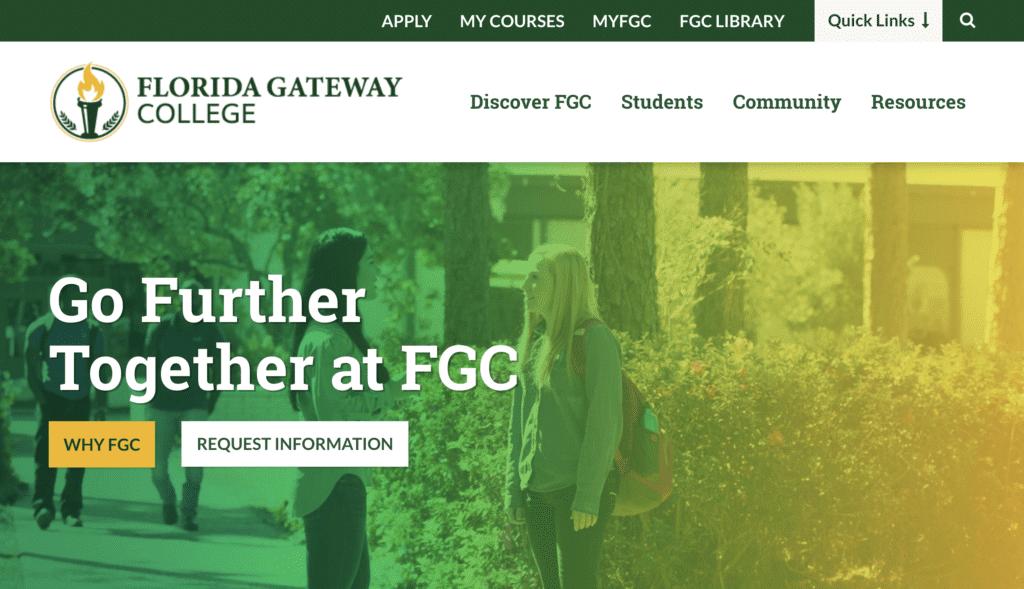 Florida Gateway College Website