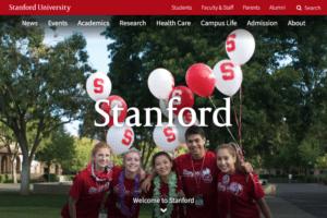 Stanford College Website