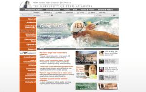 Texas College Website 2008