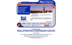 UF College Website 2003