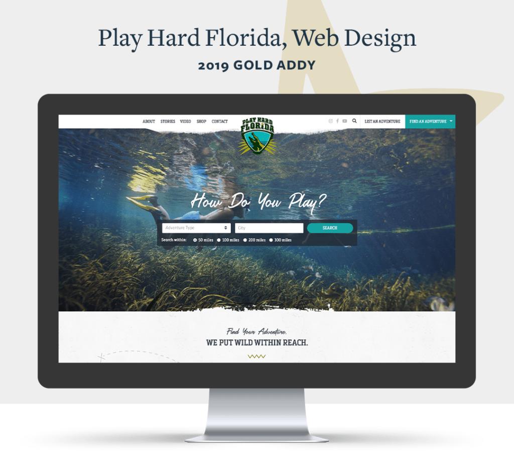 Play Hard Florida ADDY