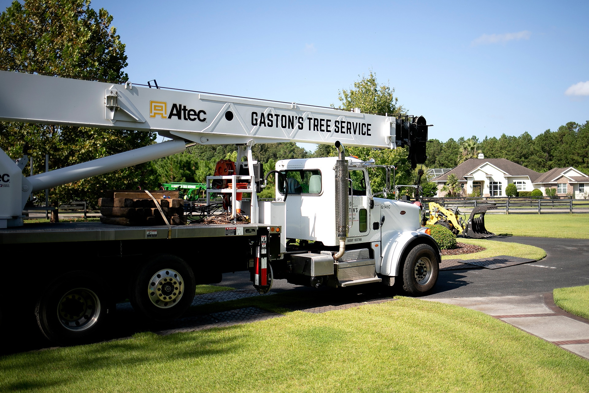 A truck for Gaston's Tree Service