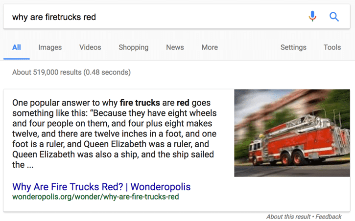 Best Answer From Google