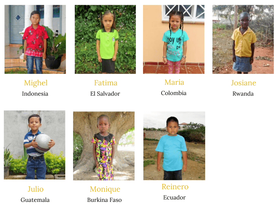 Compassion International Children