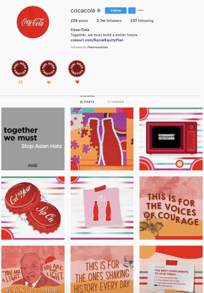 Coca Cola Social Media