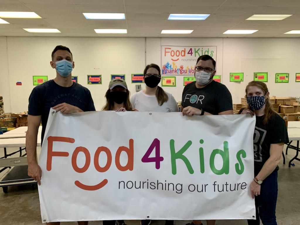 PHOS Team members volunteering at Food4Kids